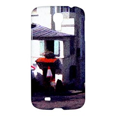 Vintage Paris Cafe Samsung Galaxy S4 I9500/i9505 Hardshell Case by bloomingvinedesign