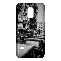 Vintage Paris Street Samsung Galaxy S5 Mini Hardshell Case