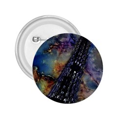 Vintage Eiffel Tower Abstract 2.25  Button by bloomingvinedesign
