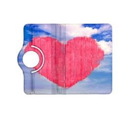 Pop Art Style Love Concept Kindle Fire Hd (2013) Flip 360 Case by dflcprints