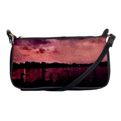 7 Geese At Sunset Evening Bag by bloomingvinedesign