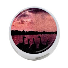 7 Geese At Sunset 4 Port Usb Hub (two Sides) by bloomingvinedesign