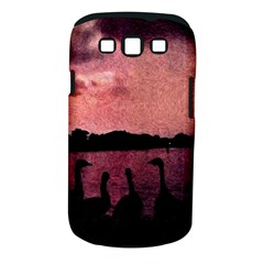 7 Geese At Sunset Samsung Galaxy S Iii Classic Hardshell Case (pc+silicone) by bloomingvinedesign