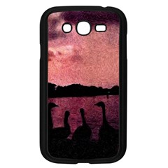 7 Geese At Sunset Samsung Galaxy Grand Duos I9082 Case (black) by bloomingvinedesign