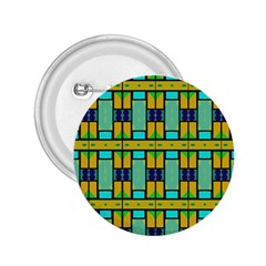Different Shapes Pattern 2 25  Button by LalyLauraFLM
