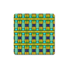 Different Shapes Pattern Magnet (square) by LalyLauraFLM
