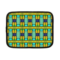 Different Shapes Pattern Netbook Case (small) by LalyLauraFLM
