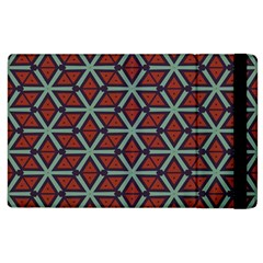 Cubes Pattern Abstract Design Apple Ipad 2 Flip Case by LalyLauraFLM