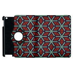 Cubes Pattern Abstract Design Apple Ipad 3/4 Flip 360 Case by LalyLauraFLM