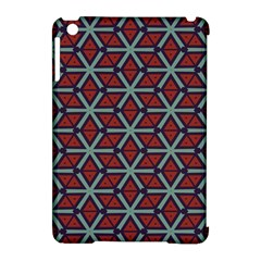 Cubes Pattern Abstract Design Apple Ipad Mini Hardshell Case (compatible With Smart Cover) by LalyLauraFLM