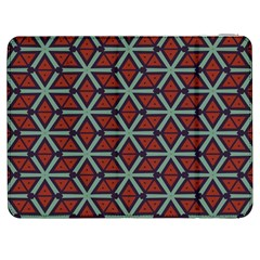 Cubes pattern abstract design Samsung Galaxy Tab 7  P1000 Flip Case by LalyLauraFLM