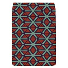 Cubes Pattern Abstract Design Removable Flap Cover (small) by LalyLauraFLM