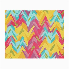 Paint Strokes Abstract Design Glasses Cloth (small) by LalyLauraFLM
