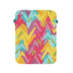 Paint Strokes Abstract Design Apple Ipad 2/3/4 Protective Soft Case by LalyLauraFLM
