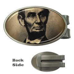 Vintage Civil War Era Lincoln Money Clip (oval) by bloomingvinedesign