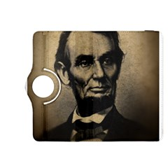 Vintage Civil War Era Lincoln Kindle Fire HDX 8.9  Flip 360 Case by bloomingvinedesign