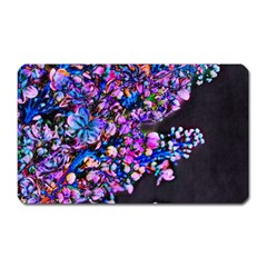 Abstract Lilacs Magnet (rectangular) by bloomingvinedesign