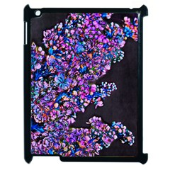 Abstract Lilacs Apple Ipad 2 Case (black) by bloomingvinedesign