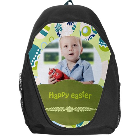 Easter By Easter   Backpack Bag   A4lbhxzfrqyq   Www Artscow Com Front
