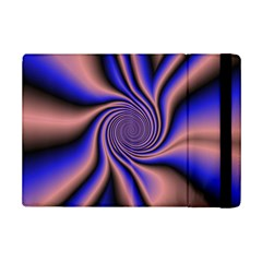 Purple Blue Swirl Apple Ipad Mini 2 Flip Case