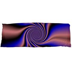 Purple Blue Swirl Body Pillow Case Dakimakura (two Sides) by LalyLauraFLM