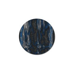 Blue Black Texture Golf Ball Marker by LalyLauraFLM