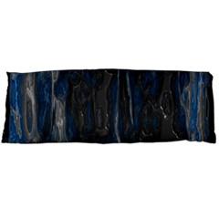 Blue Black Texture Body Pillow Case Dakimakura (two Sides) by LalyLauraFLM