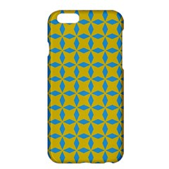 Blue Diamonds Pattern Apple Iphone 6 Plus Hardshell Case by LalyLauraFLM