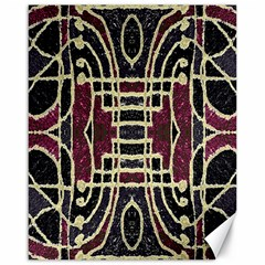 Tribal Style Ornate Grunge Pattern  Canvas 16  x 20  (Unframed) by dflcprints