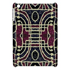 Tribal Style Ornate Grunge Pattern  Apple Ipad Mini Hardshell Case by dflcprints