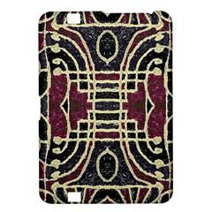 Tribal Style Ornate Grunge Pattern  Kindle Fire Hd 8 9  Hardshell Case by dflcprints