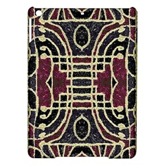 Tribal Style Ornate Grunge Pattern  Apple Ipad Air Hardshell Case by dflcprints