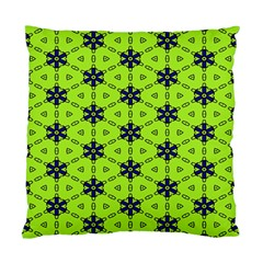 Blue Flowers Pattern Standard Cushion Case (two Sides) by LalyLauraFLM