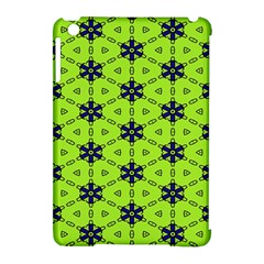 Blue Flowers Pattern Apple Ipad Mini Hardshell Case (compatible With Smart Cover) by LalyLauraFLM