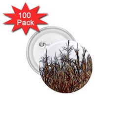 Abstract Of A Cornfield 1 75  Button (100 Pack) by bloomingvinedesign