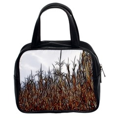 Abstract Of A Cornfield Classic Handbag (two Sides) by bloomingvinedesign