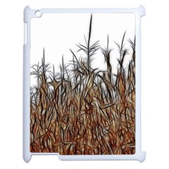 Abstract Of A Cornfield Apple Ipad 2 Case (white) by bloomingvinedesign