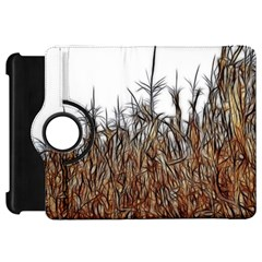 Abstract Of A Cornfield Kindle Fire Hd Flip 360 Case by bloomingvinedesign
