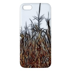 Abstract Of A Cornfield Apple Iphone 5 Premium Hardshell Case by bloomingvinedesign