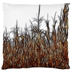 Abstract Of A Cornfield Standard Flano Cushion Case (two Sides) by bloomingvinedesign