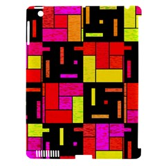 Squares And Rectangles Apple Ipad 3/4 Hardshell Case (compatible With Smart Cover) by LalyLauraFLM