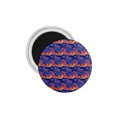 Pink Blue Waves Pattern 1 75  Magnet by LalyLauraFLM