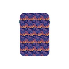Pink Blue Waves Pattern Apple Ipad Mini Protective Soft Case by LalyLauraFLM