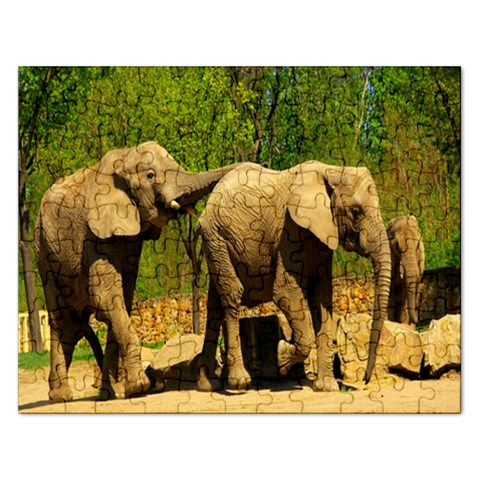 Puzzel   2 Chimps By Pamela Sue Goforth   Jigsaw Puzzle (rectangular)   Myh3uog9ysm9   Www Artscow Com Front