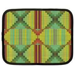 Tribal Shapes Netbook Case (xxl) by LalyLauraFLM