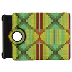Tribal Shapes Kindle Fire Hd Flip 360 Case by LalyLauraFLM