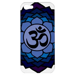 Ohm Lotus 01 Apple Iphone 5 Hardshell Case by oddzodd