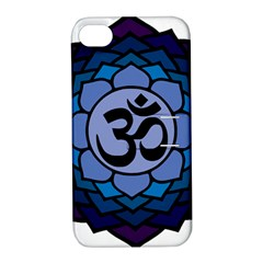 Ohm Lotus 01 Apple Iphone 4/4s Hardshell Case With Stand by oddzodd