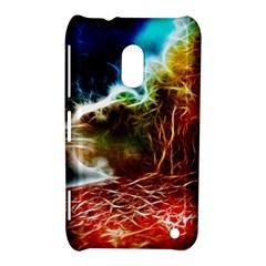 Abstract On The Wisconsin River Nokia Lumia 620 Hardshell Case