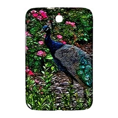 Peacock With Roses Samsung Galaxy Note 8 0 N5100 Hardshell Case  by bloomingvinedesign
